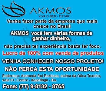 AKMOS (77) 9 8132 8765